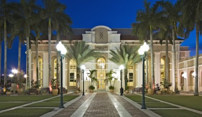 view of the Miramar Cultural Center in Miramar, Florida, 33025